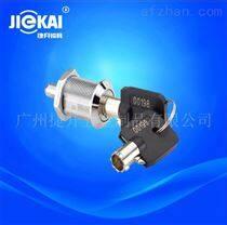JK523按压锁  双功能锁 机械电源锁