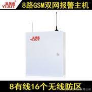 宜居通丨8路GSM双网联网报警主机
