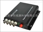 4路数字视频音频光端机,高清传输设备