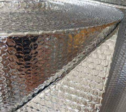 保温隔热铝箔气泡膜/大气泡直径是多少