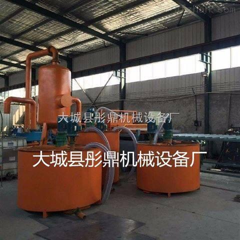 介绍硅质聚苯板设备的生产流程