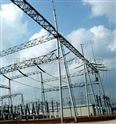 变电站避雷针及热镀锌钢构架立柱,钢结构件