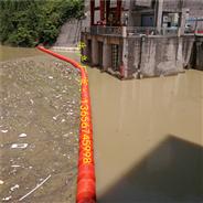 瀑布沟水电站前置拦污栅拦污浮筒
