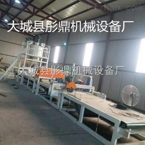 产品展示 岩棉砂浆复合板成套设备