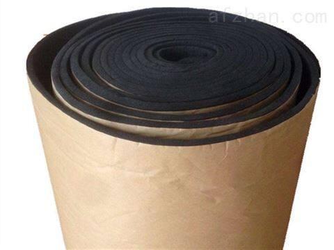 橡塑贴面橡塑保温管出售价格