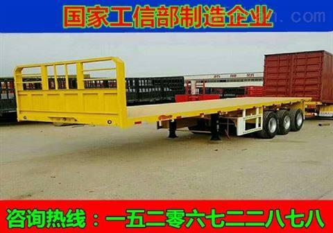 灯塔13.75米平板运输车特约定制