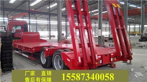 挖掘机低平板车抽拉可以生产长度规格