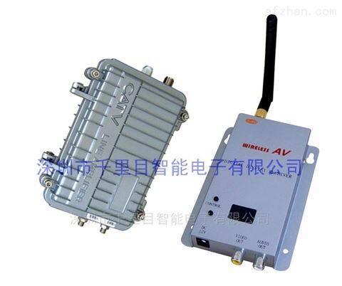 无线微波传模拟摄像机输出4公里防水传输器