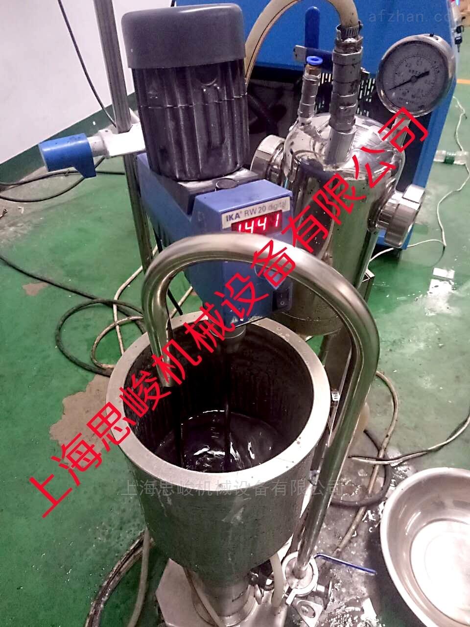 液相直接剥离法石墨烯研磨分散机