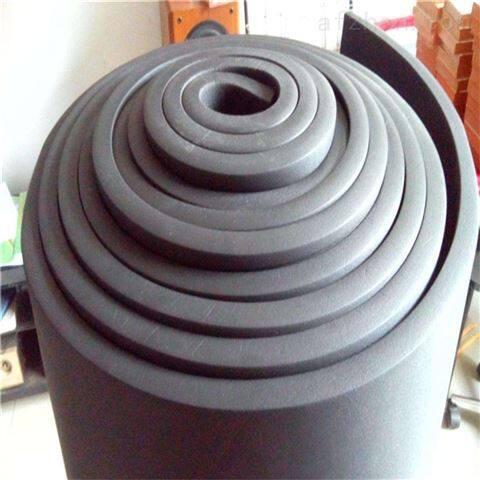 彩色铝箔橡塑保温板厂家现场直销