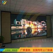 酒店户外贴墙P4全彩LED广告显示屏分几种价格?