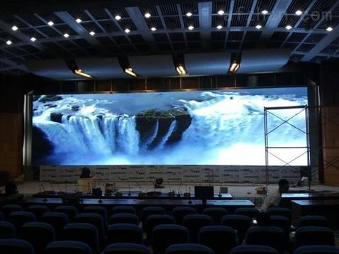 875-p1.875小間距led顯示屏酒店4k高清廣告屏幕圖片