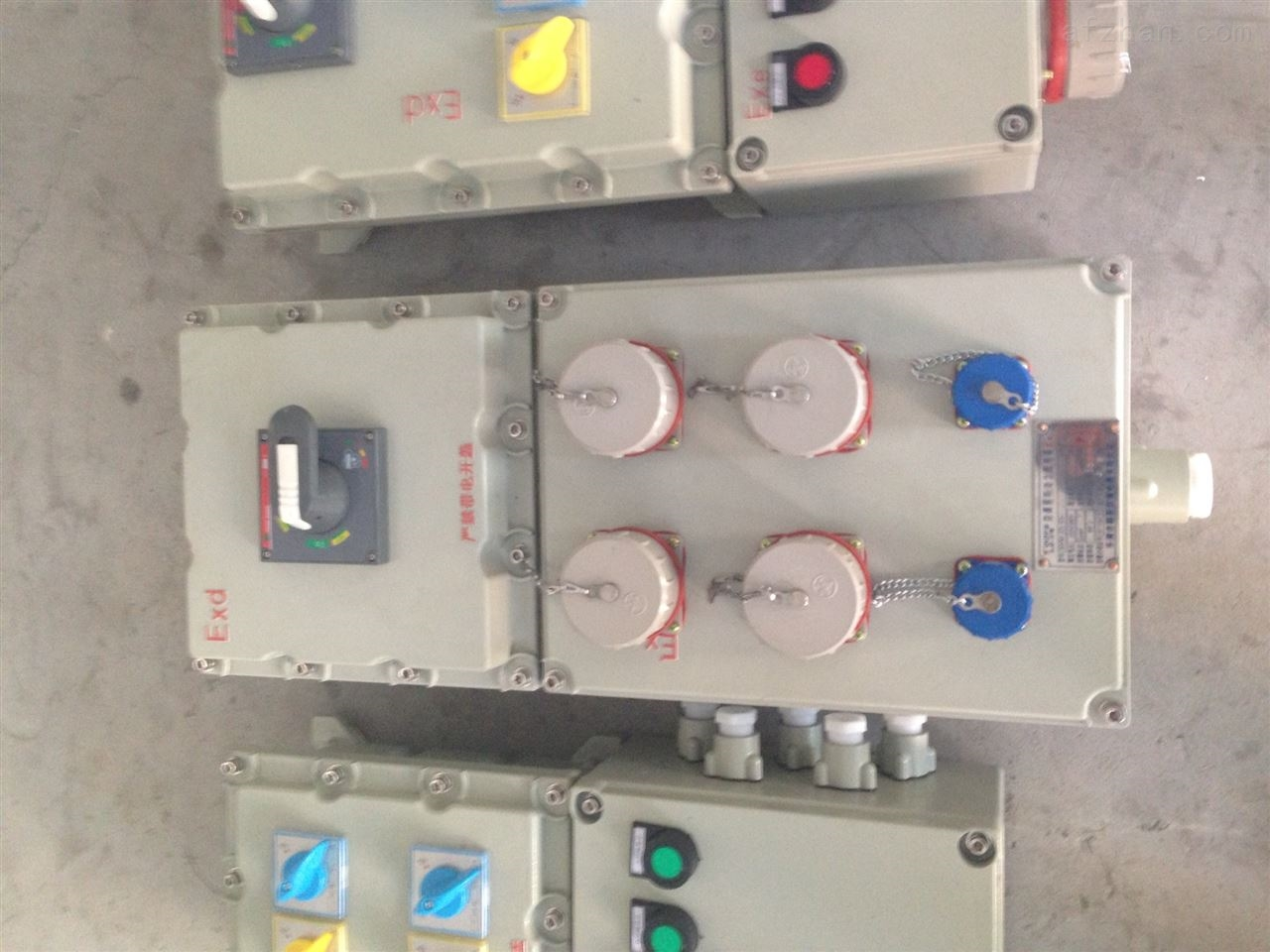 上海防爆油泵检修电源插座箱