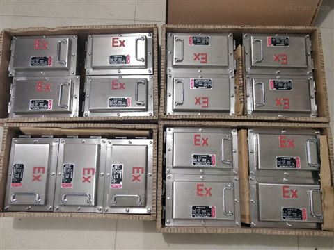 不锈钢防爆接线箱 隔爆型 IP65 WF2