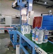 650厂家热销袖口式包装机 矿泉水自动套膜机
