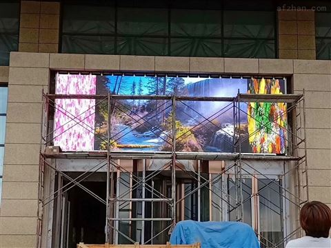 室外P6 LED全彩显示屏尺寸分辨率