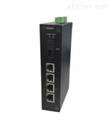 海康威视4口百兆光纤收发器发送端