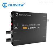 千視CV180 SDI轉多接口轉換器HDMI/VGA/CVBS