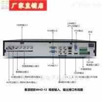 2路VGA1路HDMI1路SDI输入高清录像机WHD-12