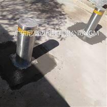 不锈钢半自动升降止车柱