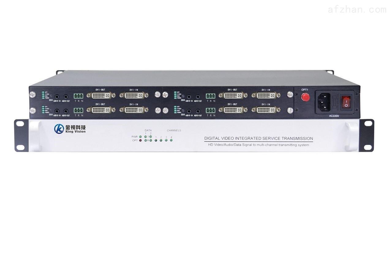 4路DVI双向音频光端机