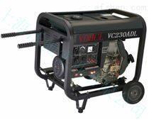 移动携带单三相230A柴油发电电焊机