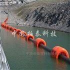 用于海上抽沙管浮筒 浙江聚乙烯管道浮子