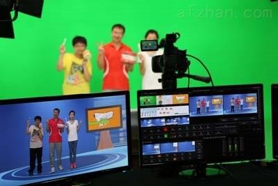 高清4K虚拟演播室便携式一体机工作站