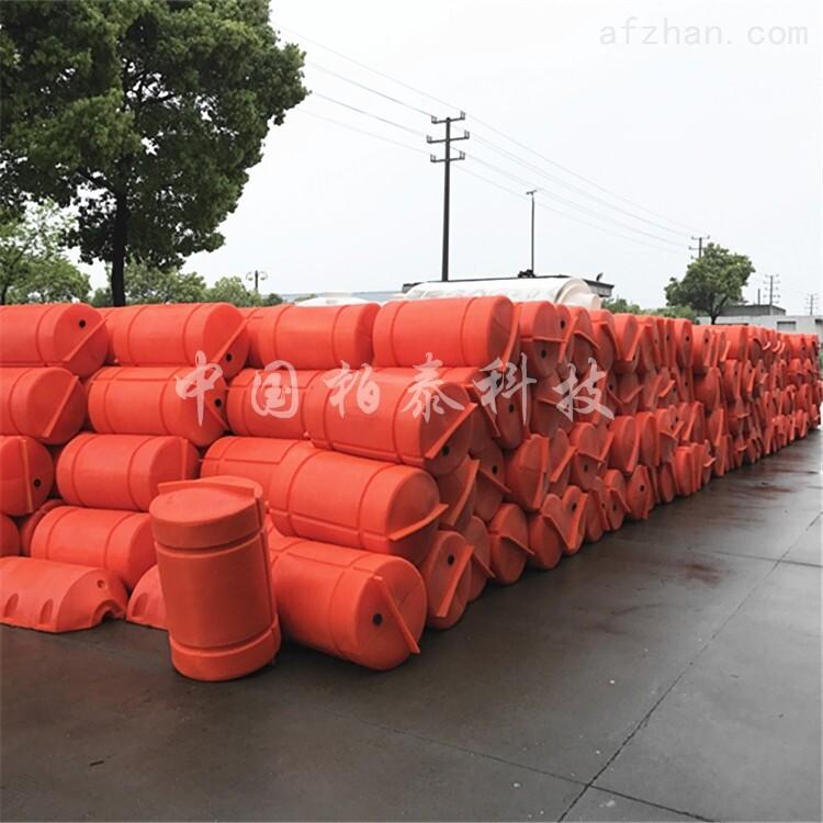 供应托浮管道橘红色浮筒