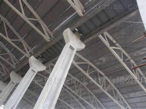 钢结构防火涂料厚型施工一公斤价格
