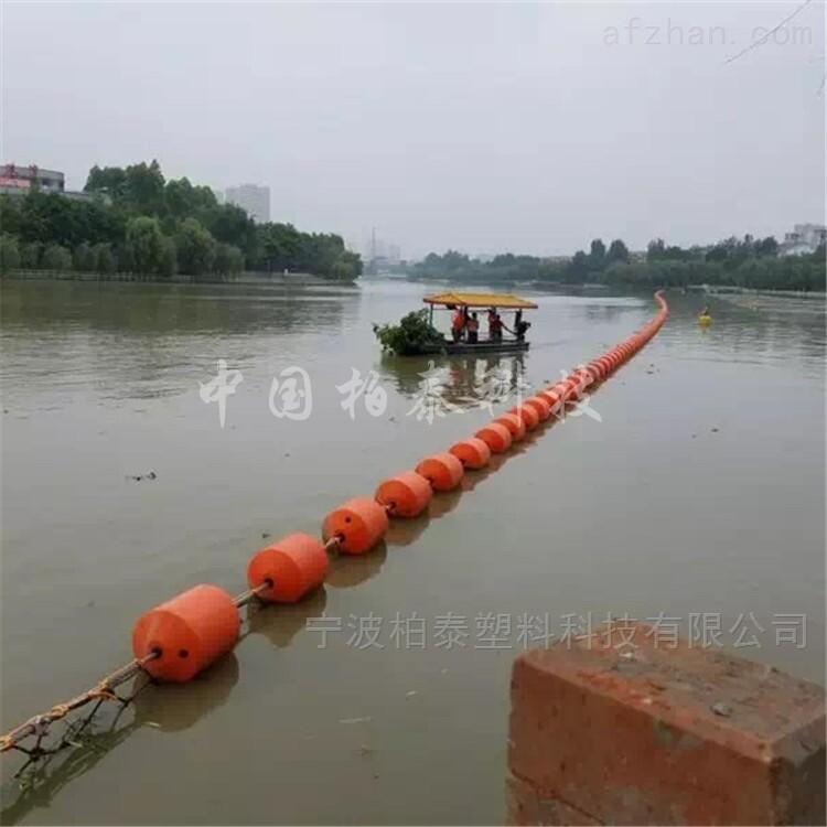 河道拦船浮筒 核心区拦截浮标