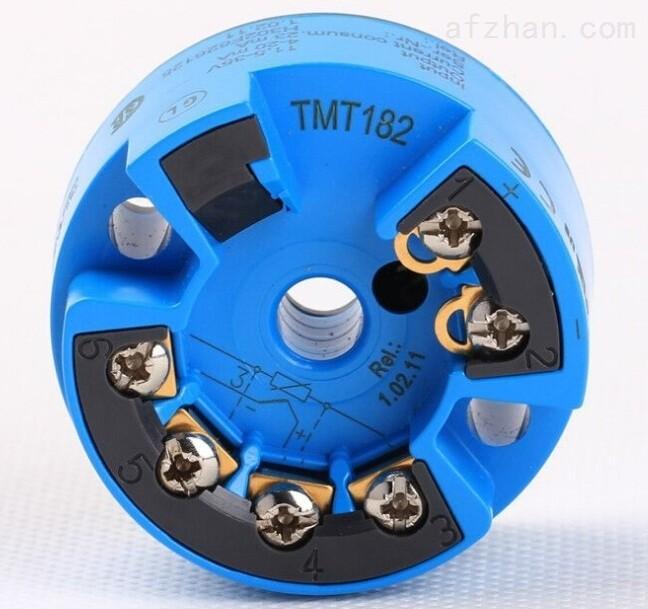 正品德E+H温度变送器TMT182