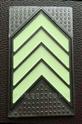 杭州地铁地面地标,嵌入式不锈钢发光箭头