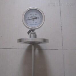 法兰连接轴向双金属温度计