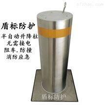DB手动不锈钢防撞路柱 伸降式隔离护桩