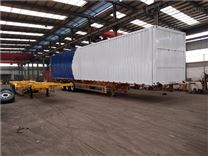 飞翼集装箱挂车规格长度13米12.5米15米