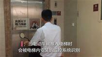 防止电动车进电梯报警系统