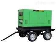拖车移动式发电电焊机