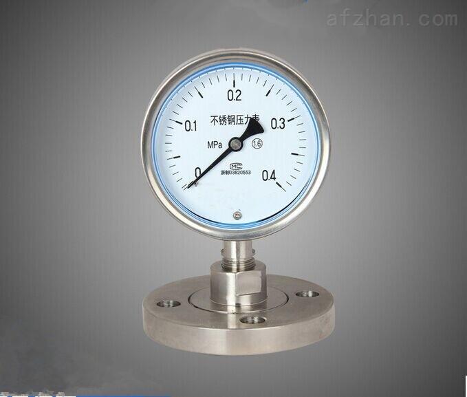 天津锈钢隔膜压力表