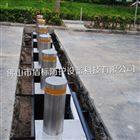自动型防冲撞金属路桩 遥控伸缩挡车器