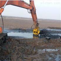 钢厂用液压铰刀搅稀砂浆泵/耐磨潜水泥浆泵