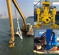 耐磨排沙泵-液压高马达抽取泥浆 砂砾泵