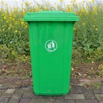 襄阳塑料加厚公园街道挂车垃圾桶厂家