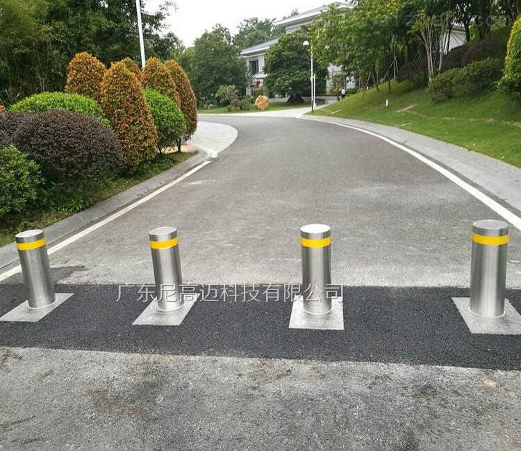 液压全自动防撞伸降柱-活动圆柱路庄