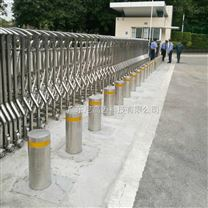 大门自动液压阻车桩 一体式智能升降防撞柱