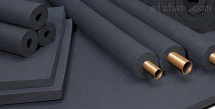 B2级橡塑保温板正常生产