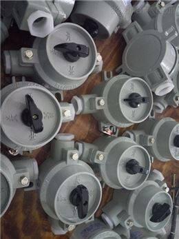 BZM-10W灯具防爆照明开关