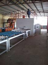 凯达新型复合防火装饰板制板机kd保温板设备