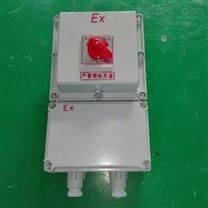 BLK52-AC220V/380V防爆断路器带漏电保护