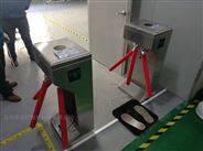 无尘车间防静电三辊闸+静电仪+脚踏板整套